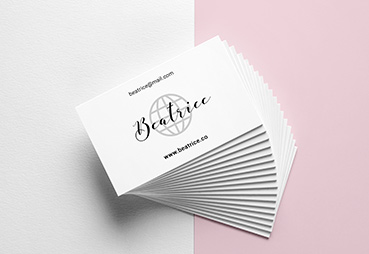 Silk Busienss Cards