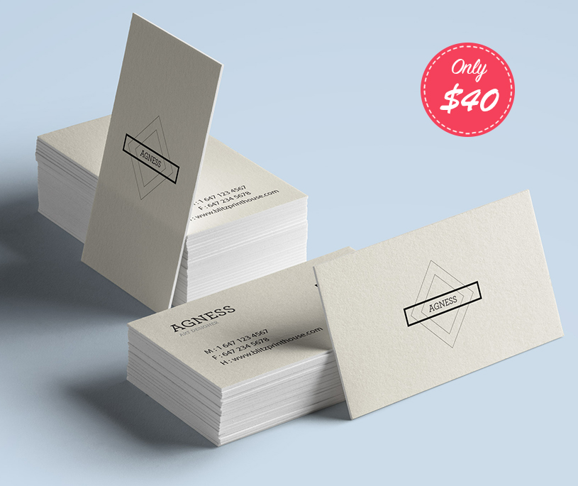Triple Thick Business Cardssale Blitzprinthouse