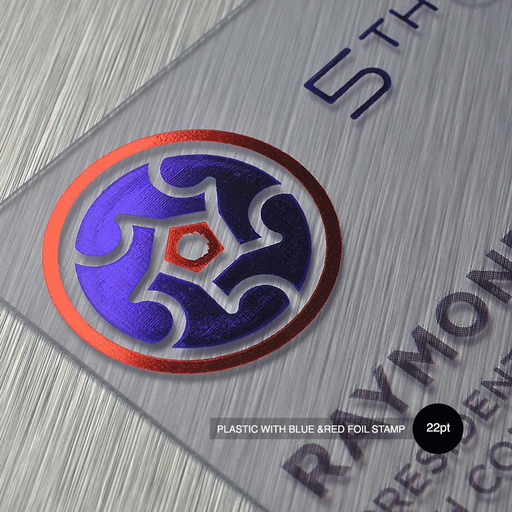 Plastic Business Card Blitz Print House Custom Online Printing
