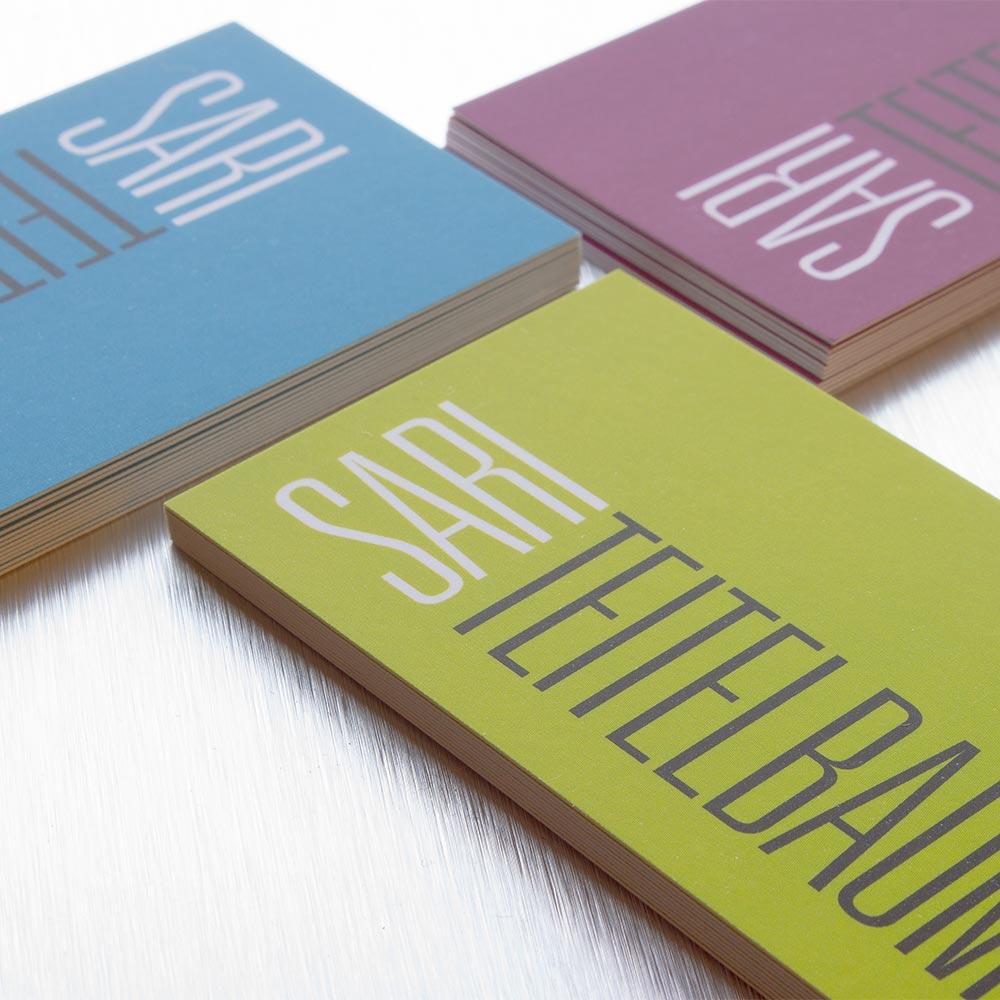Premium business cards letterpress foil stamp blitz print house suede business card reheart Gallery