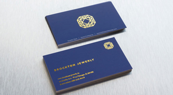 Premium business cards letterpress foil stamp blitz print house foil stamp cards reheart Image collections