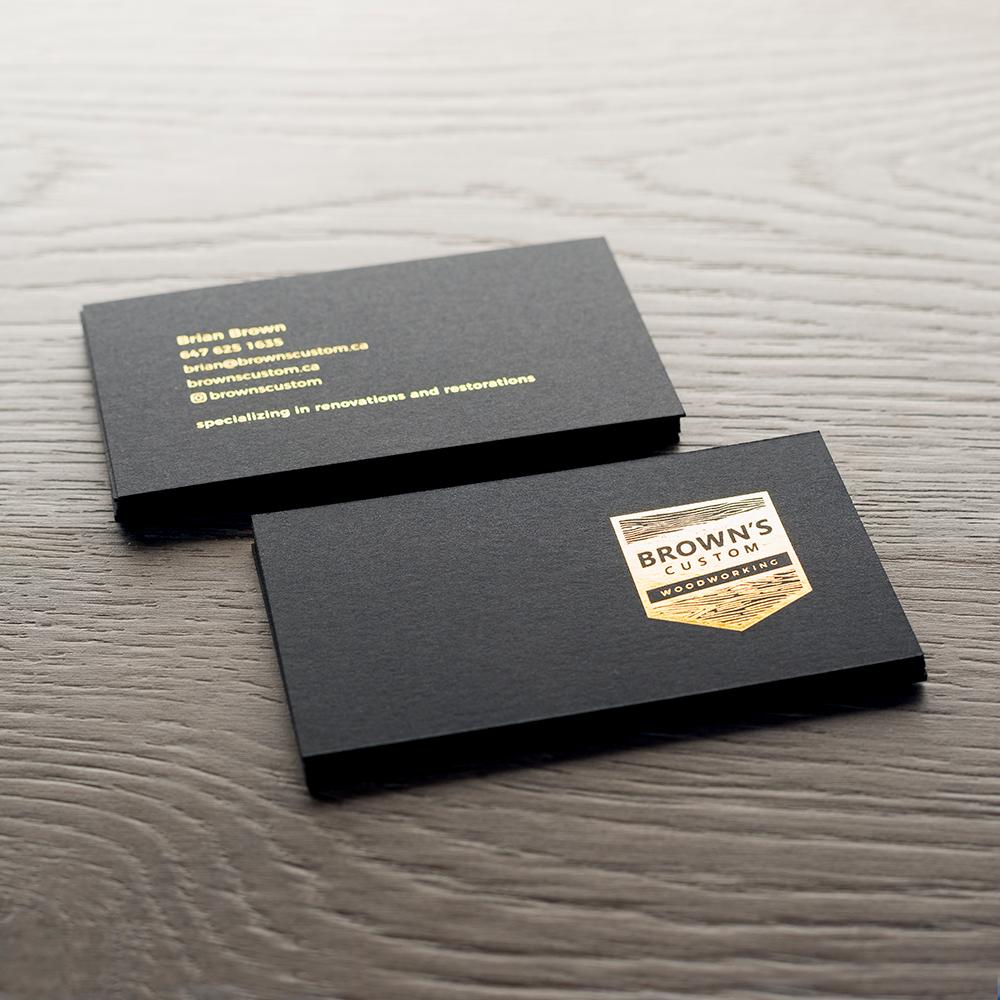 Black Business Cards   blitzprinthouse.com